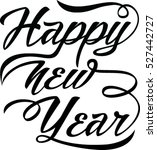 happy new  year. holiday vector ... | Shutterstock .eps vector #527442727