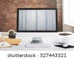 nature ecology go green concept | Shutterstock . vector #527443321