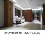 hotel corridor. | Shutterstock . vector #527462107