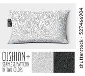 design vector pillow.  isolated ... | Shutterstock .eps vector #527466904