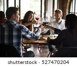 restaurant chilling out classy... | Shutterstock . vector #527470204