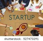 startup business...   Shutterstock . vector #527473291