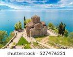 Jovan Kaneo Church In Ohrid In...