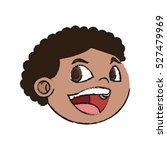 isolated boy cartoon design | Shutterstock .eps vector #527479969