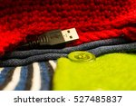 smart clothes | Shutterstock . vector #527485837