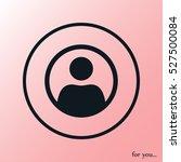 user vector icon | Shutterstock .eps vector #527500084