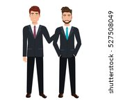 businesspeople characters... | Shutterstock .eps vector #527508049