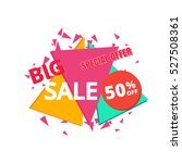 big sale and special offer... | Shutterstock .eps vector #527508361