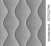 curved optical illusion black... | Shutterstock .eps vector #527512744