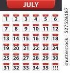 vector illustration calendar...