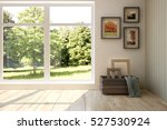 white room with modern... | Shutterstock . vector #527530924