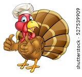 cartoon thanksgiving or... | Shutterstock . vector #527539909