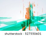 abstract graphic design  a... | Shutterstock .eps vector #527550601