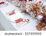 dinner | Shutterstock . vector #527555905