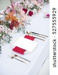dinner | Shutterstock . vector #527555929