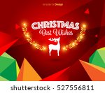 vector happy new year design  ... | Shutterstock .eps vector #527556811