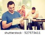 education  high school  digital ... | Shutterstock . vector #527573611