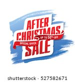 after christmas sale banner | Shutterstock .eps vector #527582671