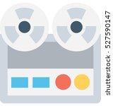 tape recorder vector icon | Shutterstock .eps vector #527590147