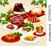 Christmas Festive Dishes Menu...