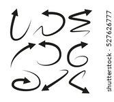 arrows | Shutterstock .eps vector #527626777