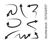 arrows | Shutterstock .eps vector #527626957