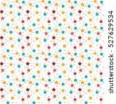 geometric mosaic seamless... | Shutterstock .eps vector #527629534