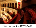 the interior of the theater... | Shutterstock . vector #527630401