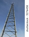 Cell Tower - stock photo