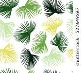 beautiful seamless tropical... | Shutterstock .eps vector #527649367