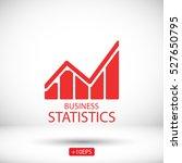 graph icon | Shutterstock .eps vector #527650795
