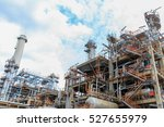 the equipment of oil refining ... | Shutterstock . vector #527655979