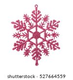 christmas bauble in shape of... | Shutterstock . vector #527664559