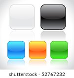 buttons for web | Shutterstock .eps vector #52767232