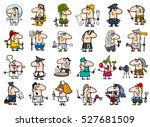 cartoon illustration of... | Shutterstock .eps vector #527681509