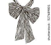 fashion stripy bow design  t...   Shutterstock .eps vector #527689801