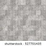 Seamless Grey Marble Stone Til...