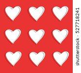 love. heart. valentine's day. i ... | Shutterstock .eps vector #527718241