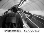 underground escalator | Shutterstock . vector #527720419