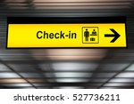 Check In Information Sign At...