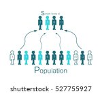 business and marketing or... | Shutterstock .eps vector #527755927
