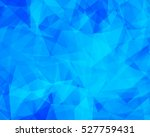 vector background from polygons ... | Shutterstock .eps vector #527759431