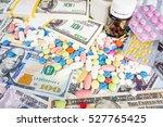 medication concept.  medicine... | Shutterstock . vector #527765425