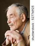 old man with moustaches in a... | Shutterstock . vector #52776925