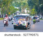 padang  indonesia   october 17... | Shutterstock . vector #527790571