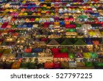 Colorful Street Market From...