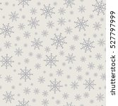 holiday backdrop  snowflake... | Shutterstock .eps vector #527797999