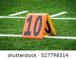 Picture Of Football 10 Yard...