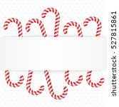 Candy Canes With Blank Space...