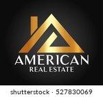 real estate  building ... | Shutterstock .eps vector #527830069